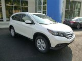 2014 White Diamond Pearl Honda CR-V EX-L AWD #85499381