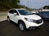 2014 White Diamond Pearl Honda CR-V EX-L AWD #85499380