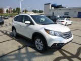 2014 White Diamond Pearl Honda CR-V EX-L AWD #85499379