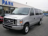 2008 Silver Metallic Ford E Series Van E350 Super Duty XLT 15 Passenger #8537811