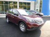 2014 Basque Red Pearl II Honda CR-V LX AWD #85499376