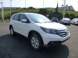 2014 White Diamond Pearl Honda CR-V EX AWD #85499373