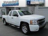 2008 Summit White Chevrolet Silverado 1500 LT Extended Cab 4x4 #85498380