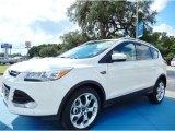 2014 White Platinum Ford Escape Titanium 2.0L EcoBoost #85592408