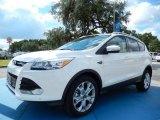 2014 White Platinum Ford Escape Titanium 2.0L EcoBoost #85592407
