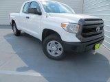 2014 Super White Toyota Tundra SR Double Cab 4x4 #85592505