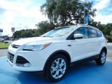 2014 White Platinum Ford Escape Titanium 2.0L EcoBoost #85592403