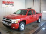 2007 Victory Red Chevrolet Silverado 1500 LT Z71 Extended Cab 4x4 #85592854