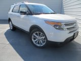 2014 White Platinum Ford Explorer XLT #85592500