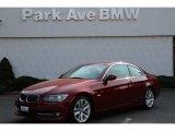 2013 Vermillion Red Metallic BMW 3 Series 328i Coupe #85592309