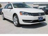 2014 Candy White Volkswagen Passat 2.5L SE #85592756