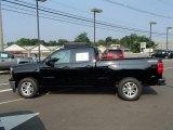 2014 Black Chevrolet Silverado 1500 LT Double Cab 4x4 #85592832