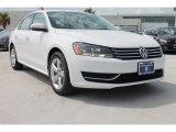 2014 Candy White Volkswagen Passat 2.5L SE #85592748