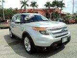 2011 Ingot Silver Metallic Ford Explorer Limited #85592362