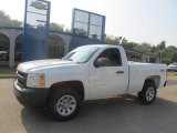 2013 Summit White Chevrolet Silverado 1500 Work Truck Regular Cab 4x4 #85592353