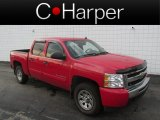 2011 Victory Red Chevrolet Silverado 1500 LS Crew Cab 4x4 #85592732