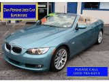 2008 Atlantic Blue Metallic BMW 3 Series 328i Convertible #85592157
