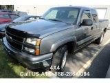 2006 Graystone Metallic Chevrolet Silverado 1500 Z71 Extended Cab 4x4 #85592632