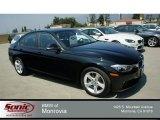 2014 Jet Black BMW 3 Series 320i Sedan #85642672