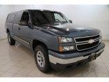 2006 Blue Granite Metallic Chevrolet Silverado 1500 LT Extended Cab 4x4 #85642883