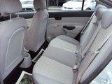2009 Hyundai Accent GLS 4 Door Rear Seat