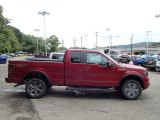 2013 Ruby Red Metallic Ford F150 FX4 SuperCab 4x4 #85642454