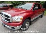 2006 Inferno Red Crystal Pearl Dodge Ram 1500 SLT Mega Cab #85642873