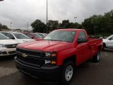 2014 Victory Red Chevrolet Silverado 1500 WT Regular Cab #85642551