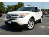 2011 White Suede Ford Explorer XLT 4WD #85642869