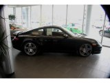 2008 Basalt Black Metallic Porsche 911 Turbo Coupe #855056