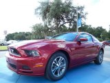 2014 Ruby Red Ford Mustang V6 Premium Coupe #85642435