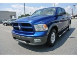 2011 Deep Water Blue Pearl Dodge Ram 1500 SLT Crew Cab #85642940