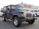 2006 Midnight Blue Pearl Jeep Wrangler Unlimited 4x4 #8537166