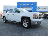 2014 Summit White Chevrolet Silverado 1500 LT Crew Cab #85642747