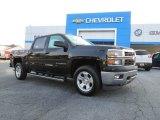 2014 Black Chevrolet Silverado 1500 LT Crew Cab #85642746