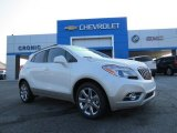 2013 White Pearl Tricoat Buick Encore Leather #85642740