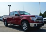 2013 Ruby Red Metallic Ford F150 Lariat SuperCrew 4x4 #85642519