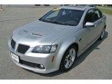 2009 Maverick Silver Metallic Pontiac G8 Sedan #85642930