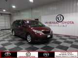 2012 Salsa Red Pearl Toyota Sienna LE #85642391