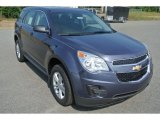 2014 Atlantis Blue Metallic Chevrolet Equinox LS #85642912