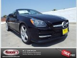 2014 Black Mercedes-Benz SLK 250 Roadster #85642492