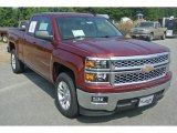2014 Deep Ruby Metallic Chevrolet Silverado 1500 LT Double Cab #85642910