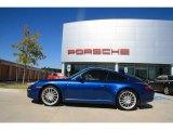 2008 Cobalt Blue Metallic Porsche 911 Carrera Coupe #855054
