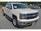 2014 White Diamond Tricoat Chevrolet Silverado 1500 LT Crew Cab 4x4 #85642902