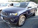 2014 True Blue Pearl Jeep Grand Cherokee Limited 4x4 #85642302