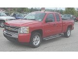 2010 Victory Red Chevrolet Silverado 1500 LT Extended Cab 4x4 #85642898