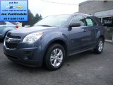 2013 Atlantis Blue Metallic Chevrolet Equinox LS AWD #85642370