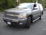 2011 Taupe Gray Metallic Chevrolet Silverado 1500 LT Crew Cab #85642281