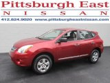 2012 Cayenne Red Nissan Rogue S AWD #85642809