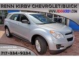 2014 Silver Topaz Metallic Chevrolet Equinox LS #85642804